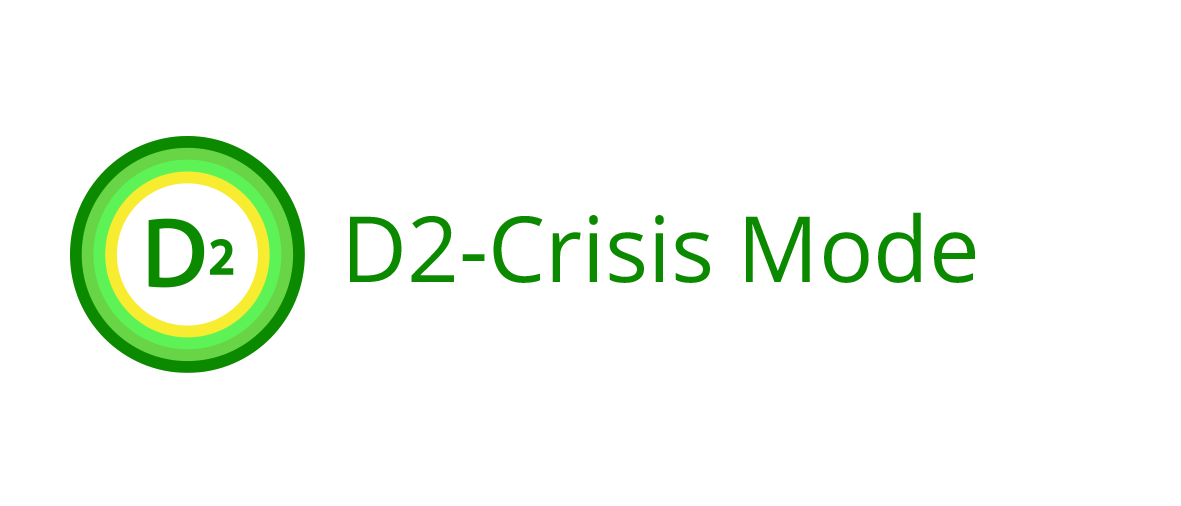 D2 - Analytics company product D2 - Crisis Mode software logo