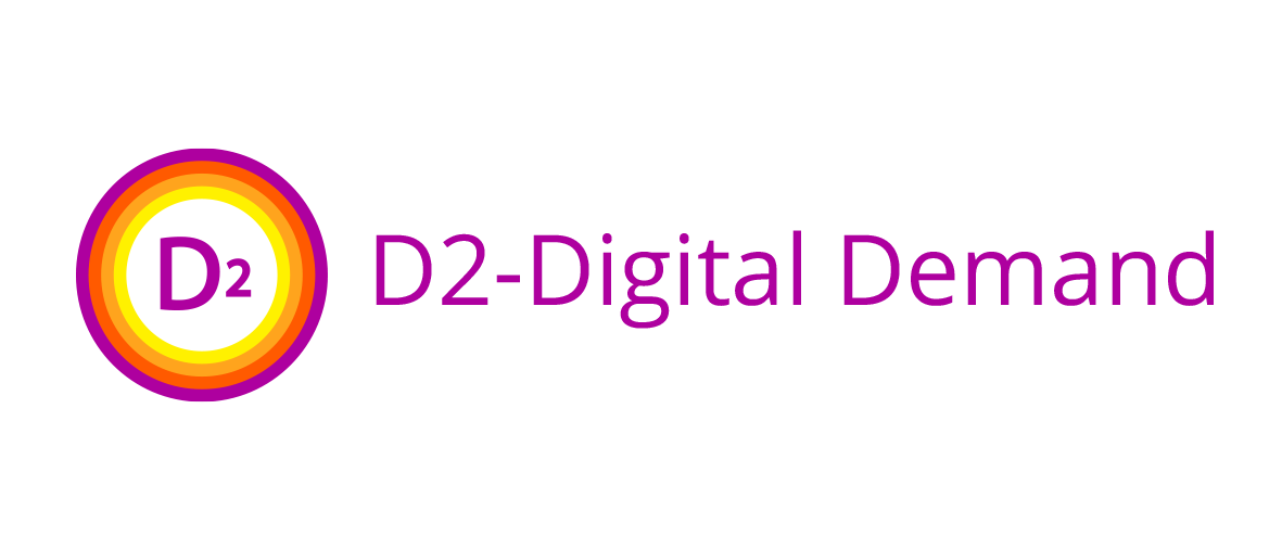 D2 - Analytics company product D2 - Digital Demand software logo