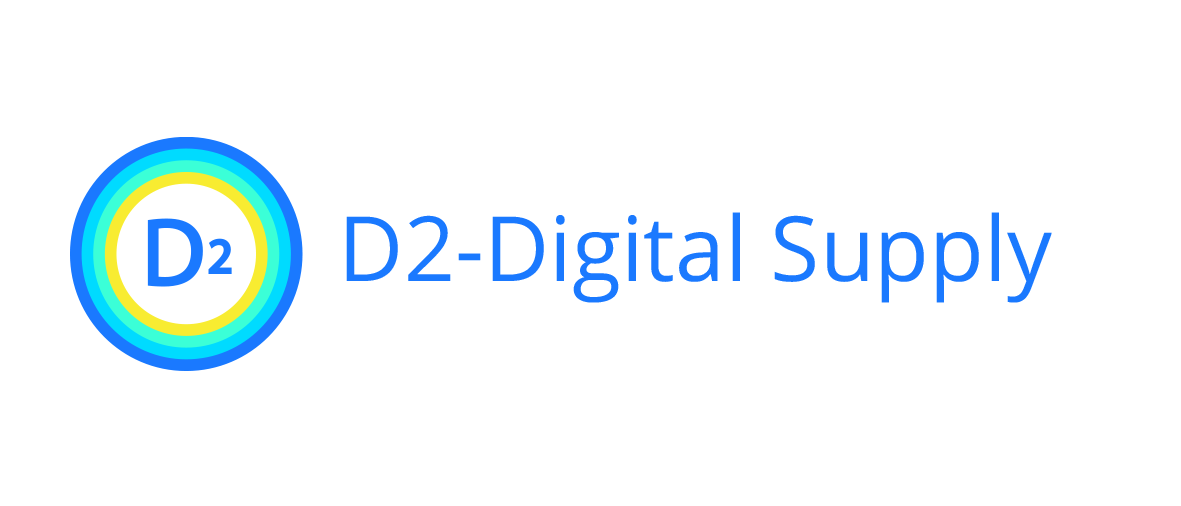 D2 - Analytics company product D2 - Digital Supply software logo